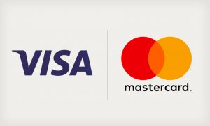 visa and master card payment method