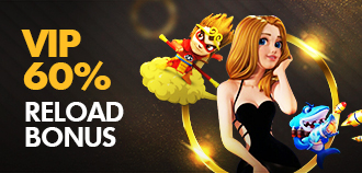 VIP KISSMEGA DAILY 60% DAILY RELOAD BONUS