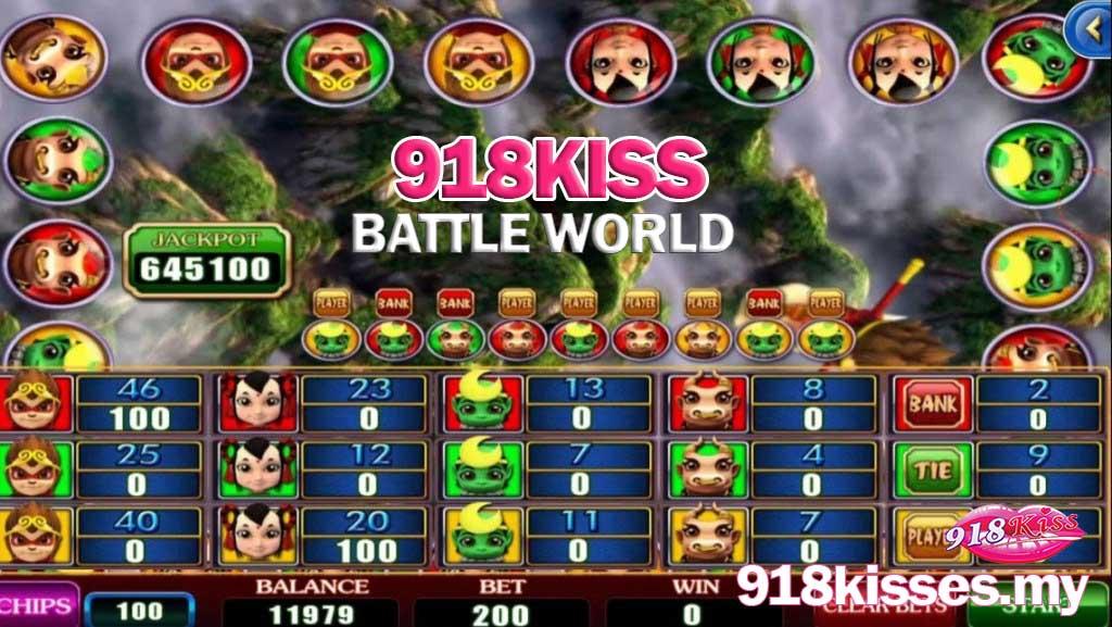918kiss battle world