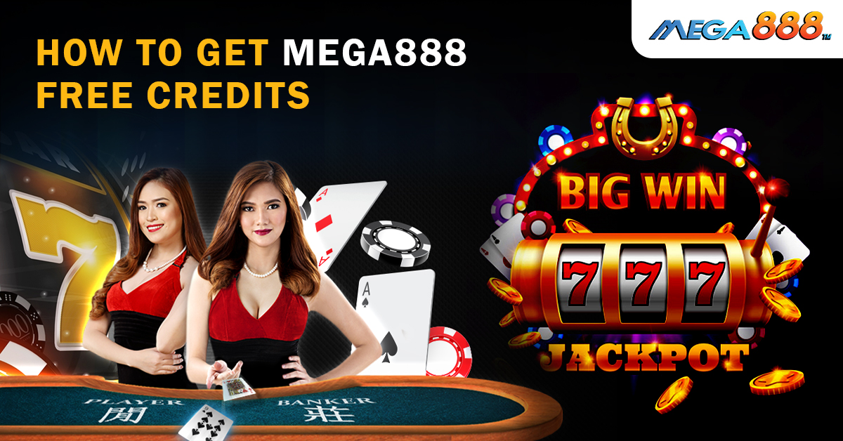 how to claim mega888 free credit